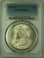1898-O MORGAN SILVER DOLLAR $1 COIN PCGS MINT STATE 64 18