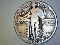 1926S  STANDING LIBERTY QUARTER  GOOD FOR COLLECTION 812