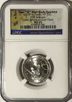2019 W NGC MS65 FIRST RELEASES GUAM QUARTER AMERICAN COIN HU