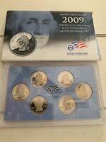 2009 UNITED STATES MINT DISTRICT OF COLUMBIA & US TERRITORIE