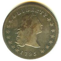 1795 FLOWING HAIR DOLLAR VF   EXCELLENT STRIKE NO TOOLING NO