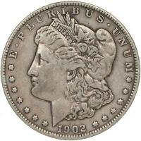 1902 MORGAN SILVER DOLLAR  FINE VF