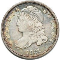 1831 CAPPED BUST DIME VF /  FINE, 10C C00043155