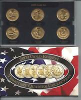 2009 GOLD EDITION TERRITORY QUARTER COLLECTION  SET