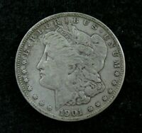 1901 O  -  MORGAN SILVER DOLLAR  -  VF  - TONED REVERSE