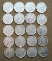 ORIGINAL ROLL 1890-S MORGAN SILVER DOLLARS..  CH/GEM BU