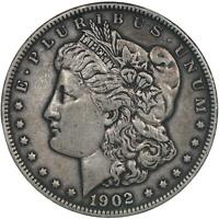 1902 MORGAN SILVER DOLLAR  FINE VF SEE PHOTOS B840