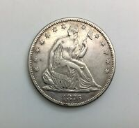1876 HALF DOLLAR  DATE SHARP DETAILS SOME MINOR MARKS NICE COIN
