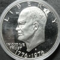 1976 S 40  SILVER PROOF EISENHOWER DOLLAR COIN