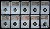 10 PIECE LOT ALL DIFFERENT ROMAN EMPIRE TRAJAN AD 98 117 AR