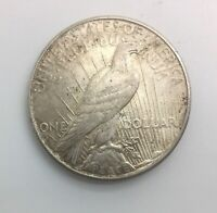 1927  S PEACE  SILVER DOLLAR NICE MID GRADE COIN LUSTRE PRESENT