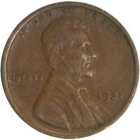 1921 LINCOLN WHEAT CENT EXTRA FINE PENNY EXTRA FINE
