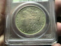 1885-O SILVER MORGAN DOLLAR - MINT STATE 64 PCGS LUSTROUS TONES
