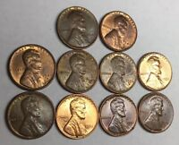 1948 S, 1949 PDS, 1950 PDS, 1951 PDS LINCOLN WHEAT CENT PENNY CC4872