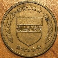 AAFES OKINAWA  JAPAN  UNITED STATES ARMY AND AIR FORCE EXCHANGE SERVICE TOKEN