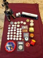 COIN LOT SILVER DOLLARS HALVES AND MORE     NO JUNK DRAWER