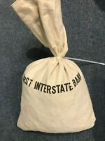 FIRST INTERSTATE BANK BANK BAG 5000 U.S. WHEAT CENT BAG 1883