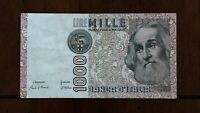 1982 ITALY 1000 LIRE BANKNOTE PICK 109A SERIAL 846012