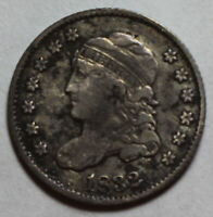 1832 CAPPED BUST HALF DIME PM136