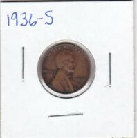 1936-S LINCOLN CENT