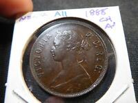 A11 CANADA NEWFOUNDLAND 1888 LARGE CENT CHOICE AU TRENDS $740 CAD