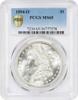 1894-O $1 PCGS MINT STATE 65 - BETTER DATE FROM NEW ORLEANS - MORGAN SILVER DOLLAR