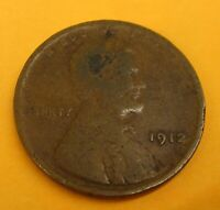 1912 LINCOLN WHEAT CENT CENT