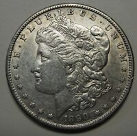 1890-S MORGAN SILVER DOLLAR GRADING AU PRICED TO MOVE SHIPPED FREE  B19