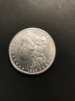1898S MORGAN SILVER DOLLAR, HIGH AU TO BU. PRICED TO SELL-  COIN