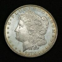 1878-S $1 MORGAN SILVER DOLLAR, PROOF-LIKE OBVERSE UNCIRCULATED LOTS765