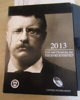 2013 COIN AND CHRONICLES SET THEODORE ROOSEVELT IN ORIGINAL