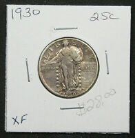1930 25C STANDING LIBERTY QUARTER. CIRCULATED EXTRA FINE  DETAIL. 1119280