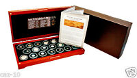 ANCIENT SILK ROAD 20 SILVER  COIN COLLECTION IN BEAUTIFUL PR