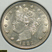 1883 U.S. LIBERTY V  NICKEL 5C UNCIRCULATED DETAILS