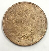 1866 TWO CENT PIECE   T194   REALLY NICE