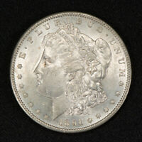1891-S $1 MORGAN SILVER DOLLAR UNCIRCULATED COIN LOTV183