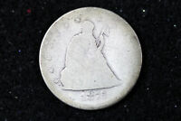 ESTATE FIND 1875 S SEATED LIBERTY TWENTY CENT PIECE  D14182