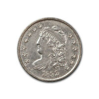 BUST HALF DIME 1832 ALMOST UNCIRCULATED