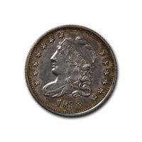 BUST HALF DIME 1833 UNCIRCULATED
