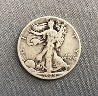 1928 S WALKING LIBERTY HALF - WHEX89