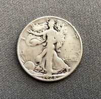 1928 S WALKING LIBERTY HALF - WHEX88