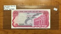 1969 SOUTH VIETNAM 20 DONG BANKNOTE PICK 20
