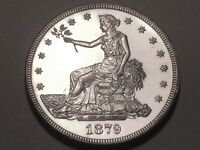 1879  TRADE DOLLAR   CHOICE PROOF      MINTAGE ONLY 1 541