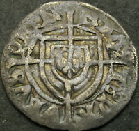 TEUTONIC ORDER SCHILLING ND   SILVER   PAULUS I.  1423 1441
