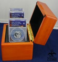 2018 S US SILVER REVERSE PROOF FIRST STRIKE COIN SET ANACS R