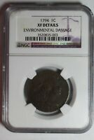 1794 LARGE CENT NGC EXTRA FINE  DETAILS 003