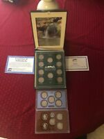 2010 2011 AMERICA THE BEAUTIFUL QUARTERS PROOF COIN SET   AT