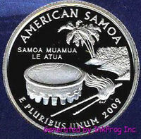 2009 S CLAD SOMOA DEEP CAMEO GEM PROOF NO RESERVE