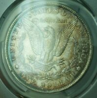 1887-O MORGAN SILVER DOLLAR S$1 PCGS MINT STATE 64 BEAUTIFULLY TONED 26