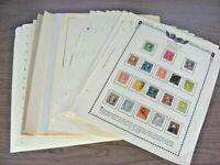 US EXCELLENT ASSORTMENT OF OLD STAMPS HINGED/MOUNTED ON REMA